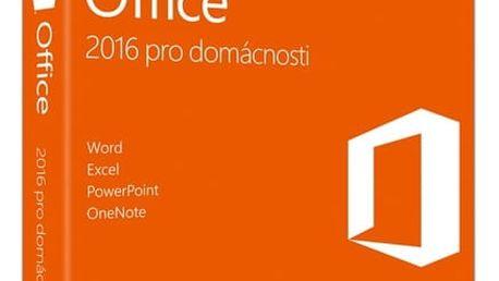 Software Microsoft CZ pro domácnosti (79G-04723) + DOPRAVA ZDARMA