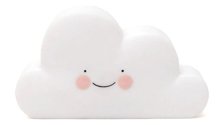 EEF lillemor Noční lampička Cloud White, bílá barva, plast
