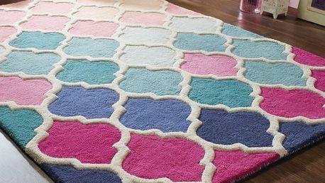 Vlněný koberec Flair Rugs Illusion Rosella, 120x170cm - doprava zdarma!