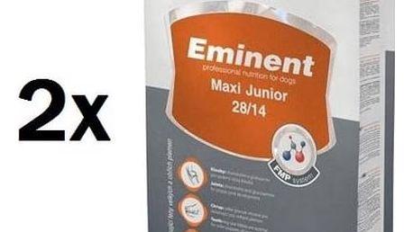 Granule Eminent Maxi Junior 2 x 15 kg + 2 kg ZDARMA + Doprava zdarma