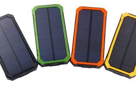 Solární Powerbanka 10 000 mAh