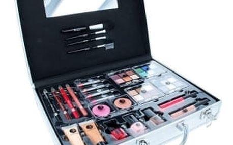 2K Beauty Unlimited Train Case dárková kazeta pro ženy Complete Makeup Palette