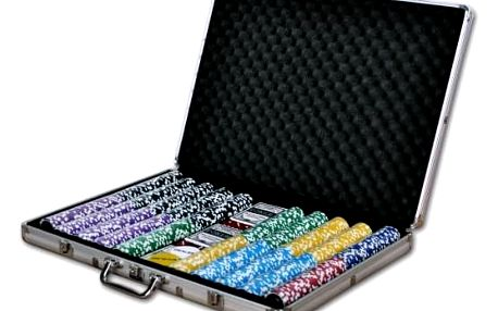 Garthen 1029 Pokerový kufr 1000 ks žetonů ULTIMATE