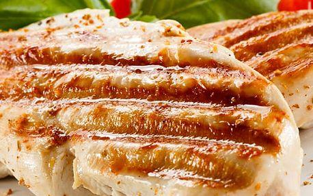Kuřecí steak SOMBRERO, hranolky s tatarkou, kávička 1x espresso se zákuskem.