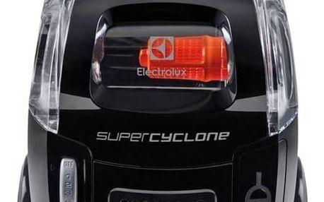 Vysavač podlahový Electrolux SuperCyclone ESC63EB černý + Doprava zdarma