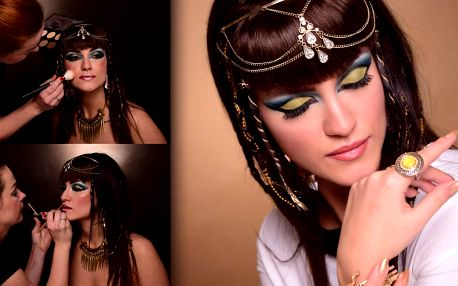 Jako modelka: focení v ateliéru a přes 150 fotek