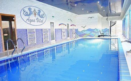3–4denní wellness pobyt pro 2 se snídaněmi v Relax centru Aqua Vital u Bojnic