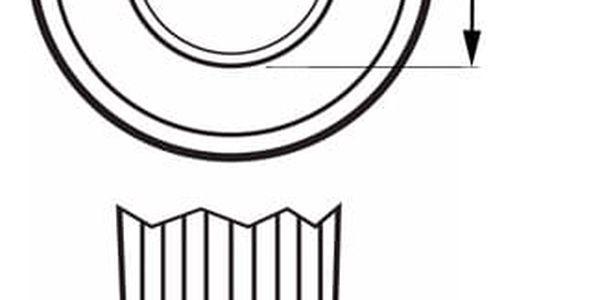 Žárovka LED ETA EKO LEDka bodová, 6W, GU10, teplá bílá (GU10-PR-410-16A)4