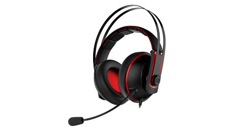 Headset Asus Gaming V2 (90YH015R-B1UA00) červený