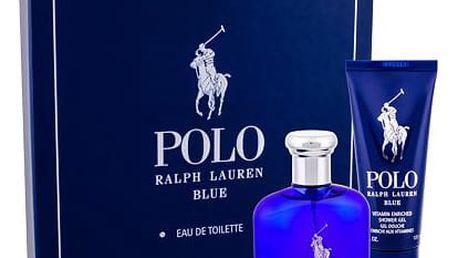 Ralph Lauren Polo Blue EDT dárková sada M - EDT 75 ml + sprchový gel 100 ml