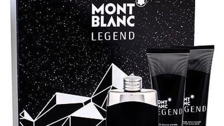Montblanc Legend EDT dárková sada M - EDT 100 ml + balzám po holení 100 ml + sprchový gel 100 ml