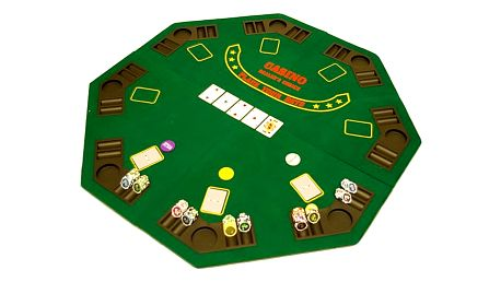 Garthen 507 Poker podložka osmihran skládací 120 x 120 x 1,5 cm