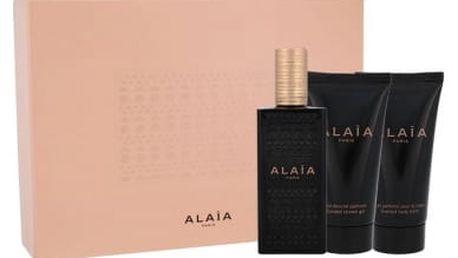 Azzedine Alaia Alaia 50 ml dárková kazeta dárková sada pro ženy parfémovaná voda 50 ml + tělové mléko 50 ml + sprchový gel 50 ml