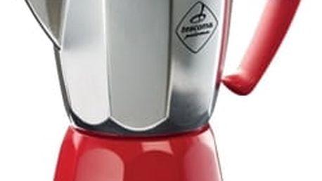 TESCOMA kávovar PALOMA Colore, 6 šálků, červená