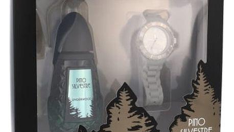 Pino Silvestre Pino Silvestre Underwood dárková kazeta pro muže toaletní voda 125 ml + hodinky