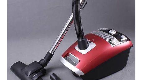 Vysavač podlahový Guzzanti GZ 308 červený + Doprava zdarma