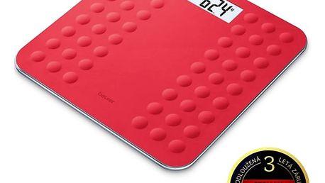 Osobní váha Beurer GS300COR červená