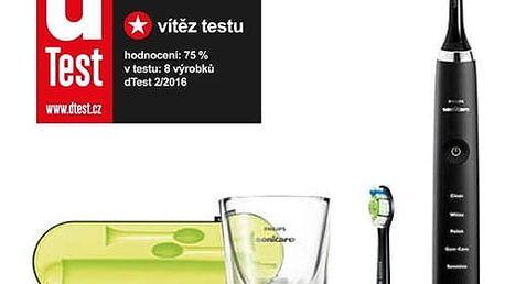 Zubní kartáček Philips Sonicare DiamondClean HX9352/04 černý + DOPRAVA ZDARMA