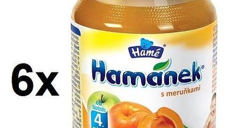 Příkrm Hamánek DIA s meruňkami 6x180g