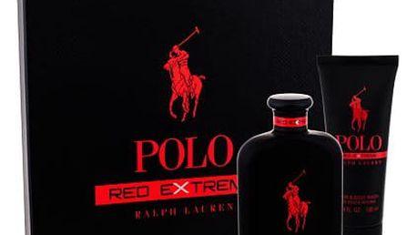 Ralph Lauren Polo Red Extreme parfém dárková sada M - parfém 125 ml + sprchový gel 100 ml