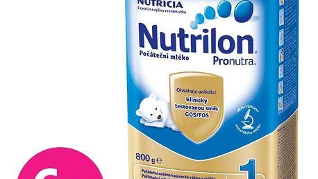 6x NUTRILON 1 ProNutra (800g) - kojenecké mléko