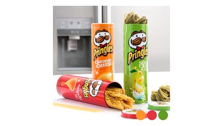 Plechová Krabice Pringles