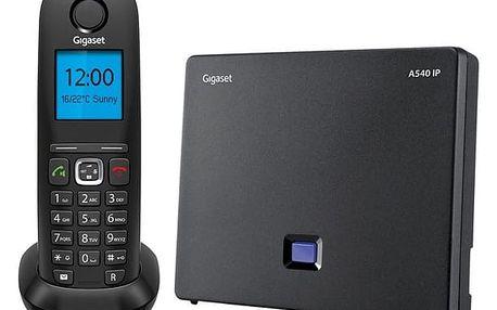 Domácí telefon Siemens A540 IP černý