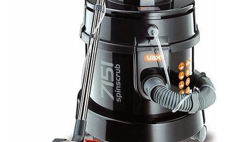 Vysavač víceúčelový VAX Wet&Dry 7151 Multifunction černý + DOPRAVA ZDARMA