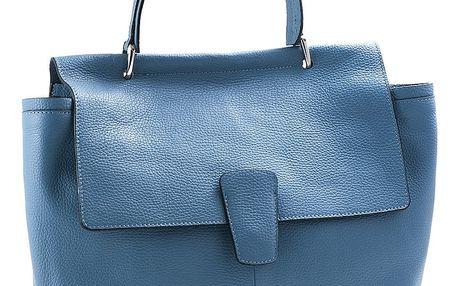 Modrá kabelka z pravé kůže Andrea Cardone Aria - doprava zdarma!