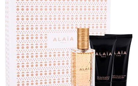Azzedine Alaia Alaia Blanche EDP dárková sada W - EDP 50 ml + tělové mléko 50 ml + sprchový gel 50 ml
