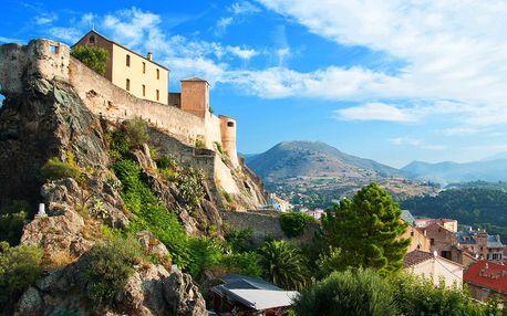 Dovolená u moře a výlety po krásách Korsiky
