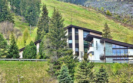 Hotel Barbora *** v Nízkých Tatrách s polopenzí a sportem