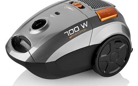 Vysavač podlahový ETA Tiago 3507 90000 stříbrný