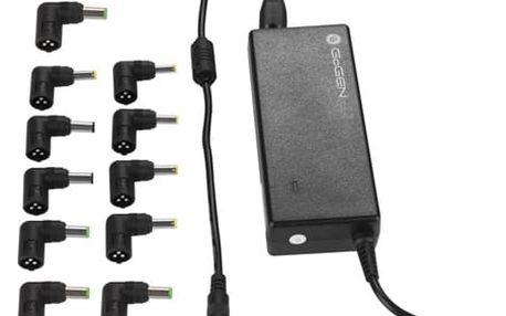 Napájecí adaptér GoGEN NTBAD 9011 UNI, univerzální pro notebooky (GOGNTBAD9011UNI) černý
