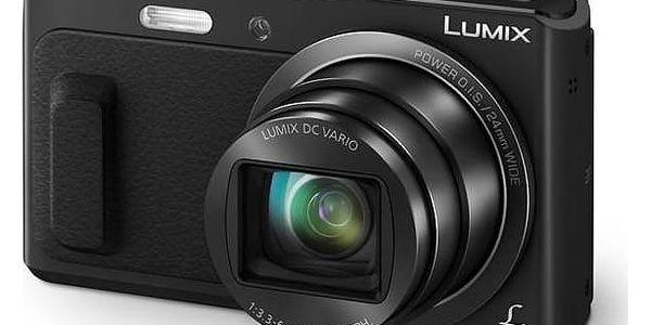 Digitální fotoaparát Panasonic Lumix DMC-TZ57EP-K černý + Doprava zdarma