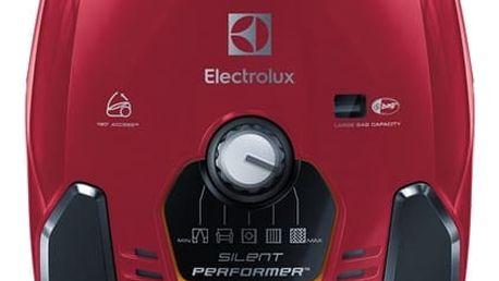 Vysavač podlahový Electrolux SilentPerformer ESP73RR červený + DOPRAVA ZDARMA