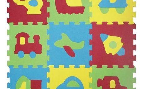Pěnové puzzle Ludi - dopravní prostředky