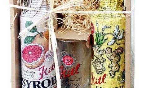 KITL Dárkové balení Syrob Grep + Zázvor 2x 500 ml