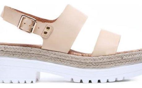 Dámské béžové sandály Sanny 8242