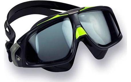 Brýle plavecké pánské Aqua Sphere Seal 2.0 dark černé/zelené