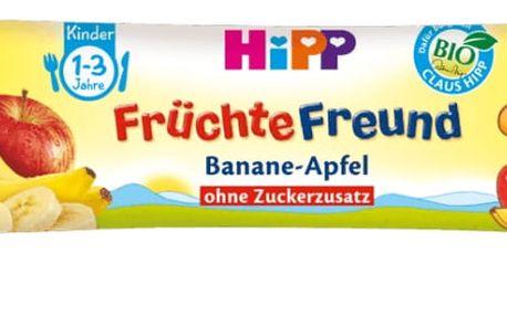 5x HIPP BIO Tyčinka Banán – Jablko 25 g