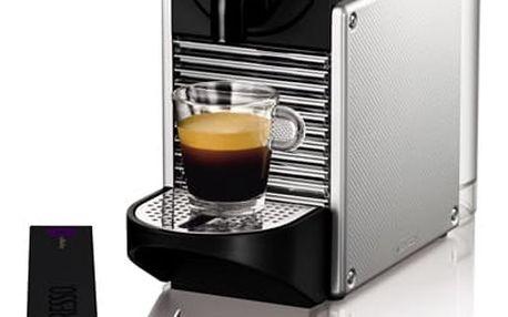 Espresso DeLonghi Nespresso Pixie EN125S stříbrné