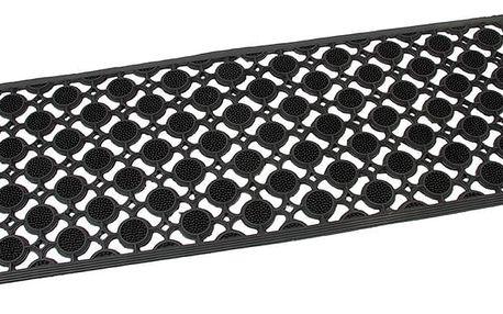 Flomat Venkovní rohožka Rubber brush, 45 x 120 cm
