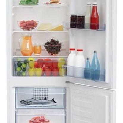 Kombinace chladničky s mrazničkou Beko RCNA 305 K20W bílá + DOPRAVA ZDARMA