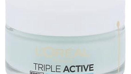 L´Oréal Paris Triple Active Fresh Hydrating Gel Cream 50 ml denní pleťový krém proti vráskám pro ženy