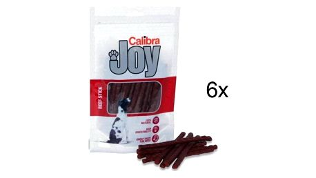 Pochoutka Calibra Joy Dog Beef Stick 6 x 100g