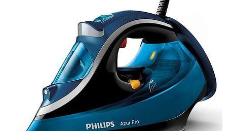 Žehlička Philips Azur Pro GC4881/20 modrá