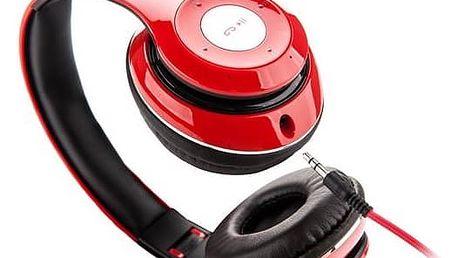 Sluchátka GoGEN HBTM 41RR (HBTM 41RR ) červená + Doprava zdarma