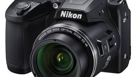 Digitální fotoaparát Nikon Coolpix B500 černý + Doprava zdarma