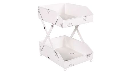 Dvoupatrový dekorativní stolek Antic Line Banette